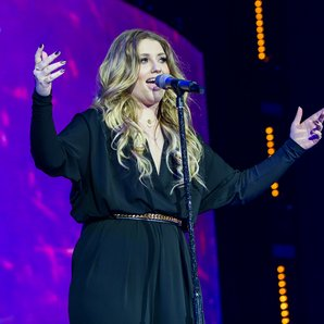 Ella Henderson at the Jingle Bell Ball 2014