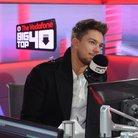 Matt Terry In the Big Top 40 studio